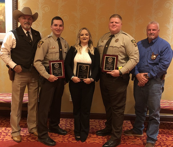 Sheriff's Deputies recognized at Oklahoma Sheriff's Conference