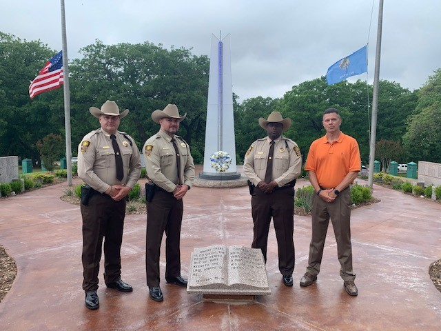 Deputies participate in Oklahoma Law Enforcement Memorial